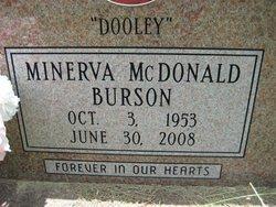 Minerva Dooley <i>McDonald</i> Burson