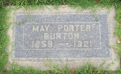 May Porter <i>Porter</i> Burton