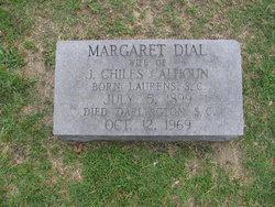 Margaret <i>Dial</i> Calhoun