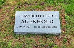 Elizabeth Clyde Aderhold