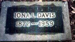 Mrs Iona Lavine Onnie <i>Gregory</i> Davis