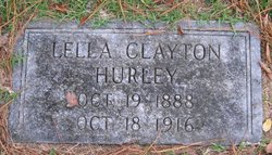 Lella James <i>Clayton</i> Hurley