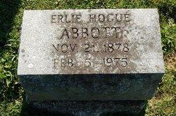 Erlie B. <i>Hogue</i> Abbott