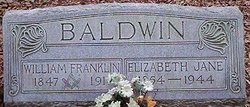 Elizabeth Jane <i>Sterne</i> Baldwin