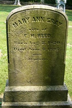 Mary Ann <i>Gray</i> Reed