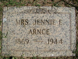Jennie Evelyn <i>Poor</i> Arnce