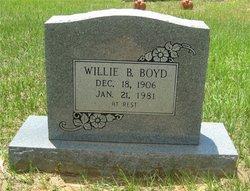 Willie B. Boyd