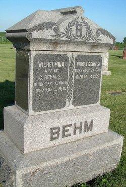 Christian Behm, Sr