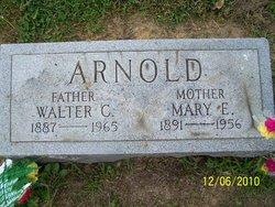 Mary E <i>Brunk</i> Arnold