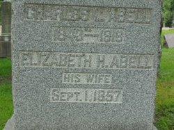 Elizabeth Frances <i>Hamilton</i> Abell