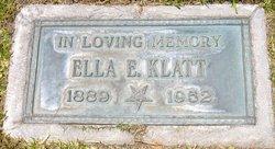 Ella Ethel <i>Leinback</i> Klatt