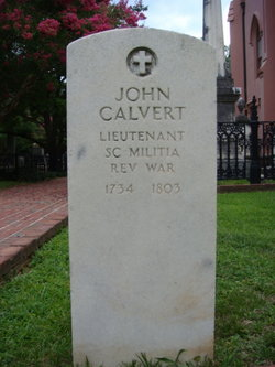 Lieut John Calvert