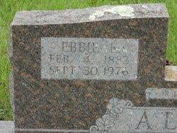 Ebbie Edward Allen, Sr