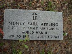 Sidney Earl Appling