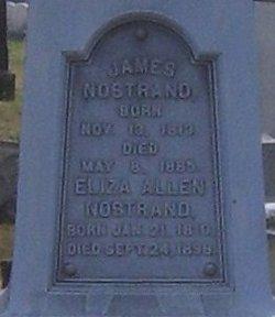 Eliza <i>Allen</i> Nostrand
