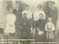Harriet Emma <i>Yeager</i> Bingham