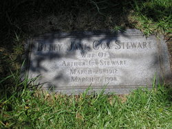 Betty Jane <i>Cox</i> Peurifoy Stewart