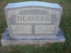 Mary Alice <i>Higgs</i> Deavers