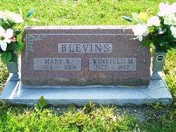 Mary Katherine <i>Daugherty</i> Blevins