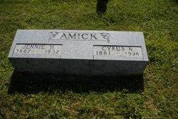 Jennie <i>Heaton</i> Amick