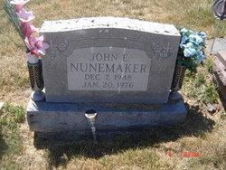 John Eugene Nunemaker