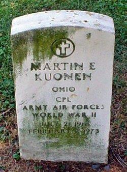 Corp Martin E. Kuonen