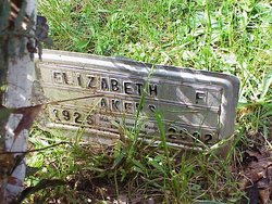 Elizabeth Carrie <i>Fields</i> Akers