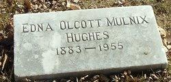 Edna Mulnix <i>Olcott</i> Hughes
