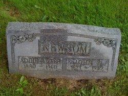 Addie B. <i>Webb</i> Newsom