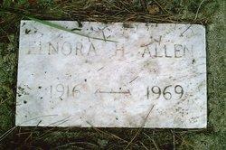 Elnora <i>Hicks</i> Allen