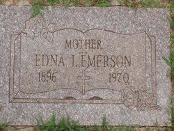 Edna Irene <i>Hunt</i> Emerson