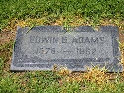 Edwin G Adams