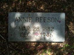 Anna Annie <i>Schlick</i> Beeson