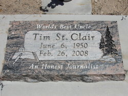 Timothy Edwin Tim St. Clair