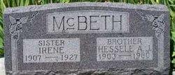 Irene Elizabeth <i>McBeth</i> Beckner