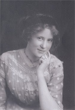 Hulda Christina <i>Lindstam</i> Riedel