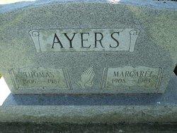 Margaret Catherine <i>Trout</i> Ayers