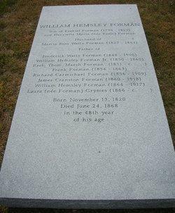 William Hemsley Forman