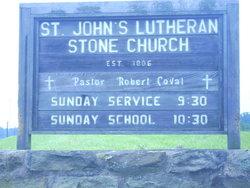 Saint John's Lutheran Stone Church Cemetery