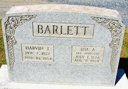 Ida A <i>Fernsler</i> Barlett