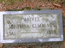 Sophronia <i>Sias</i> Cummings