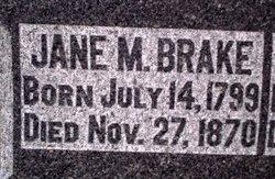 Jane <i>McClure</i> Brake