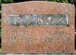 Sarah Jane <i>Fitzwater</i> Bellinger