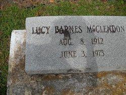 Lucy <i>Barnes</i> McClendon