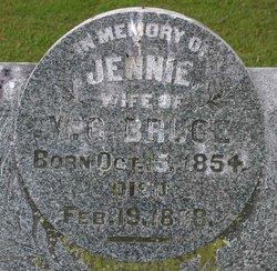 Jennie <i>Wheelock</i> Bruce