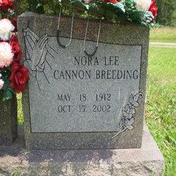 Nora Lee <i>Cannon</i> Breeding