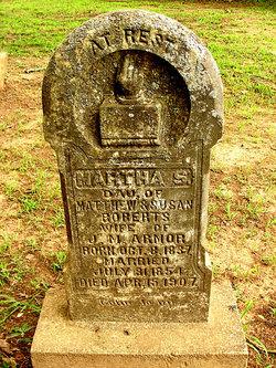 Martha Susan <i>Roberts</i> Armor