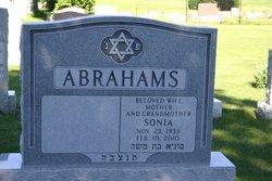 Sonia <i>Gichtin</i> Abrahams