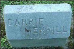 Mrs Carrie <i>Merrill</i> Hatch