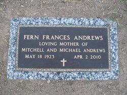 Fern Frances Andrews